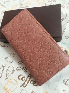 Authentic-GUCCI-GG-Guccissima-Leather-Zip-Around-WALLET-w-Coin-Pocket-332747-New