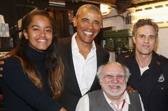Barack Obama Took Malia To A Broadway Show Last Night And... Hot Damn He Looks Great