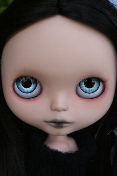 Penny by Zaloa27, via Flickr Crossed Fingers, Blythe Dolls, Black Hair, Amy, Hair Black Hair, Black Hair Weaves