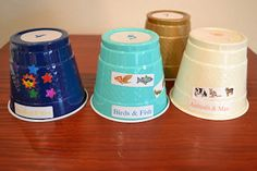 Bible Class Creations: Creation Cups