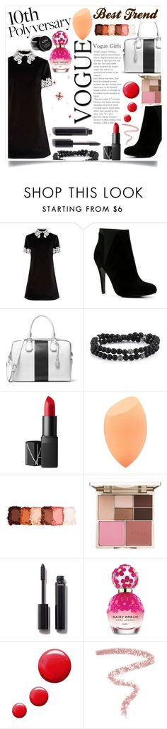 """""""Celebrate Our 10th Polyversary!"""" by mk19972000 ❤ liked on Polyvore featuring macgraw, ALDO, MICHAEL Michael Kors, NARS Cosmetics, NYX, Stila, Chanel, Marc Jacobs, Topshop and Bobbi Brown Cosmetics"""
