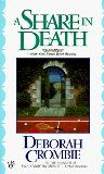 """""""A Share in Death (1993)The """"Superintendent Kincaid/Inspector James"""" series (12 books)"""": A series with two protagonists, a male superintendent with a female sergeant at Scotland Yard. Both likable characters with complicated family lives. As the series develops, so does the relationship between them."""