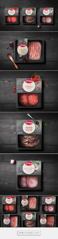 Primo's Premium Selections - Packaging of the World - Creative Package Design Gallery - http://www.packagingoftheworld.com/2017/10/primos-premium-selections.html