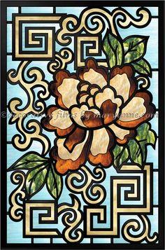 Довольно Magnolia Декоративные пленки окна