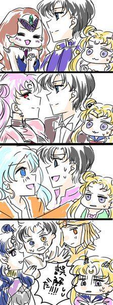 Mamoru in all the saga's