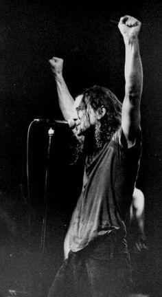Seizoensgebonden: Pearl Jam Melkweg Amsterdam februari '92 / Roskilde-festival Denemarken juni '92