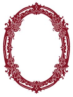 *The Graphics Fairy LLC*: Vintage Clip Art - Stunning Silhouette Frames - Christmas