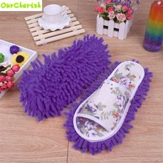 High Quality Women Dust Mop Slippers Socks Microfiber House Slippers Bedroom Shoes10-12 #>=#>=#>=#>=#> Click on the pin to check out discount price, color, size, shipping, etc. Save and like it!