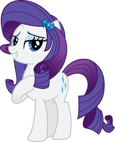 Rarity with Equestria Girls mane/hair (beautiful) :) <3