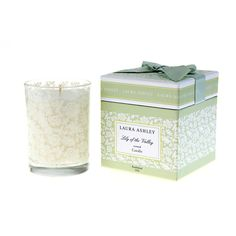 For me!! $20 +10% 7.8 oz off OMG, my favorite scent (muguet)!!!Laura Ashley Lily of the Valley Gift Boxed Candle