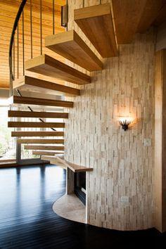 RAINBOW RANCH - contemporary - staircase - austin - Allison Jaffe Interior Design