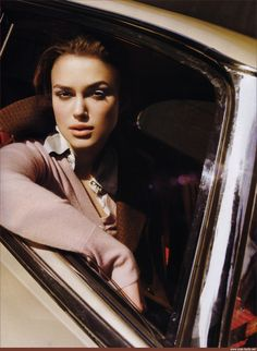 Keira Knightly for Vogue UK