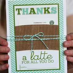 Super cute idea for teacher appreciation or others who rock our worlds with their helpfulness!