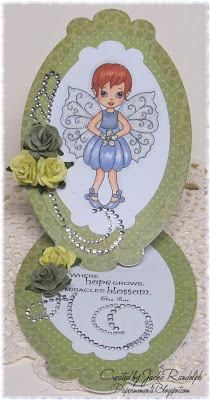 FLORA FAIRY  http://www.whimsystamps.com/index.php?main_page=product_info=13_38_id=2570  Card designed by Jackie  http://www.papermoments.blogspot.com/