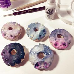 """2,908 Likes, 33 Comments - Domenico Scalisi (@nobuhappyspooky) on Instagram: """"Work in progress with the new Galaxy Donuts! Thanks for following my short Instagram Live """"painting…"""""""