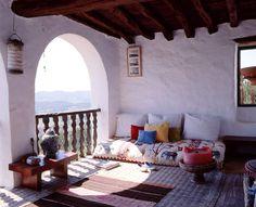 love this open space - rustic comfort