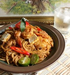 Mee Goreng Mamak If I have to choose only one dish for my whole life this could be the ONE!