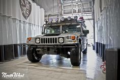 Cats Exotics new Hummer H1 is getting an Enthusiast Exterior Detail and an Interior Plus by NWAS