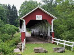 Barronvale Bridge - One of many scenic sites in Somerset County, PA.