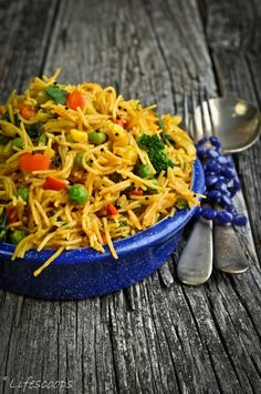 Vermicelli Pulao is a very popular, tasty, healthy and nutritious Breakfast Recipe in many Indian Houses. I mostly make this pulao with… Veg Recipes, Indian Food Recipes, Asian Recipes, Vegetarian Recipes, Cooking Recipes, Healthy Recipes, Mushroom Recipes, Recipies, Upma Recipe