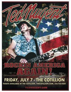 "Ted Nugent has carved a permanent place in rock & roll history as the ultimate guitar-shredding showman, selling more than 40 million albums, performing over 6,500 high-octane live shows, and continuing to set attendance records at venues around the globe. Nugent was named Detroit's Greatest Guitar Player of All Time by readers of MLive, and his no-holds-barred career spans five decades of multi-platinum hits. From the ground breaking Amboy Dukes' hit ""Journey to the Center of the Mind,"" to…"