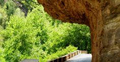 Karpenissi Kleidi area Greece Travel, Garden Bridge, Outdoor Structures, Places, Greece Vacation, Lugares