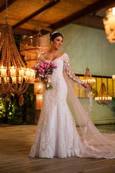 Um Casamento Clássico E Romântico Produzido Por Ser Constância, Que Usou E Abusou De Rosa, Branco E Dourado – As Cores Do Amor. Veja!