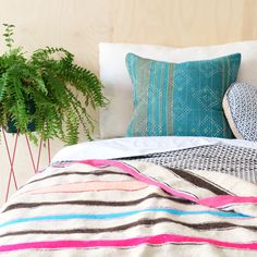 Pink and blue Online Collections, Cushions, Lounge, Throw Pillows, Bed, Sage, Vintage, Design, Airport Lounge