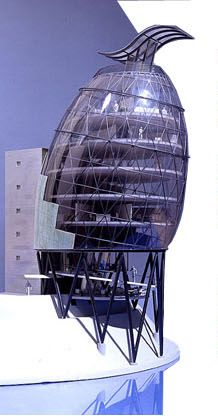 Hans Hollein Architecture – Standing Tall and Proud, Architect, Designer, Artist - Fire Collection