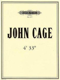 storia dell'arte moderna e contemporanea: 1952 John Cage 4 33