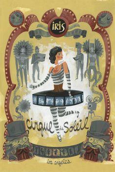 """""""Iris"""" Cirque du Soleil Print by Amanda Visell"""