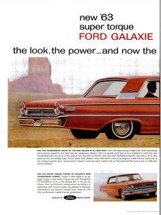 The '63 FORD GALAXIE