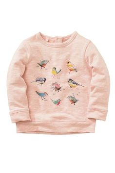 Buy Pink Bird Crew Neck Sweat (3mths-6yrs) online today at Next: United States of America