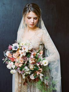 Hair and Makeup: Nikol Elaine - http://nikolelaine.com/ Floral Design: Tulipina - Kiana Underwood - http://tulipina.com Wedding Dress: Emily Riggs - http://emilyriggsbridal.com   Read More on SMP: http://www.stylemepretty.com/california-weddings/2017/07/05/monet-inspired-wedding-shoot/