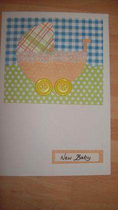 Pram New Baby card