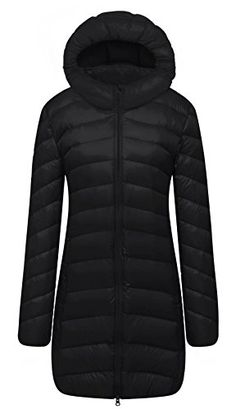Cloudy Arch Women's Lightweight Packable Hooded Down Coat Ultra Light; Save  space; Easy to