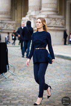 Vanessa Traina Street Style Street Fashion Streetsnaps by STYLEDUMONDE Street Style Fashion Photography