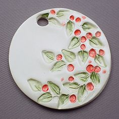 Ceramic Christmas Ornament