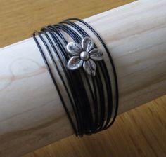 DIY Black bracelet