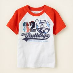 baby boy - outfits - plaid patrol - sporty tee   Children's Clothing   Kids Clothes   The Children's Place