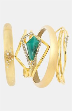 Stack it: Alexis Bittar bangles
