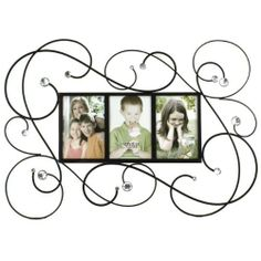Fetco Home Decor Lindsay Swirls Wall Art by Fetco Home Décor. $26.99. Metal Finish. Wall Art piece. Tuscan Bronze w/Clear Stones. The Lyndsay-Swirls-24x11 Triple 4x6 Photo Frame in tuscan bronze with clear stones has a beautiful swirl pattern with crystal accent stones for wall art photo display.