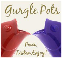 gurgle fish pot / Christmas Tree Shoppes, cheaper!!