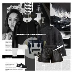 """""""I'm a lover and I'm a sinner."""" by e-laysian ❤ liked on Polyvore featuring Sukie, Eleanor Long, Fendi, H&M, Love Leather, NIKE, CÉLINE, Aesop, Smashbox and Bobbi Brown Cosmetics"""