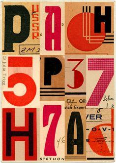 USSR vintage type & Eastern bloc art. Russian art by JuliaTrigg