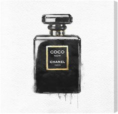 Coco Chanel canvas art