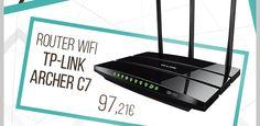 TP-Link #Router Wifi Banda Dual AC1750 Archer C7 1300Mbps.  http://www.opirata.com/es/tplink-router-wifi-banda-dual-ac1750-archer-1300mbps-p-13493.html