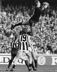Stephen Silvagni, 1988 mark of the year.  Against Collingwood - does it get any better!