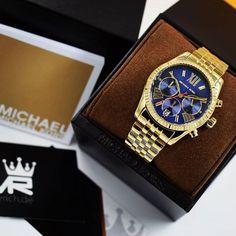 Michael Kors MK6206 | @MyRich.de #MichaelKors #michaelkorswatch #original #official #watch #style #uhr #trend #mk6206 #newwatch #jetset #lifestyle #brand #onlineshop #luxus #juwelry #luxury #lady #fashion #rolex #germany #seller #jetset #gold #bluewatch #blue #accessories #crystal