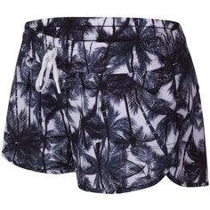 Lorna Jane Offbeat Running Shorts, Black/White (€51) ❤ liked on Polyvore featuring activewear, activewear shorts, lorna jane, logo sportswear, lorna jane sportswear and lorna jane activewear